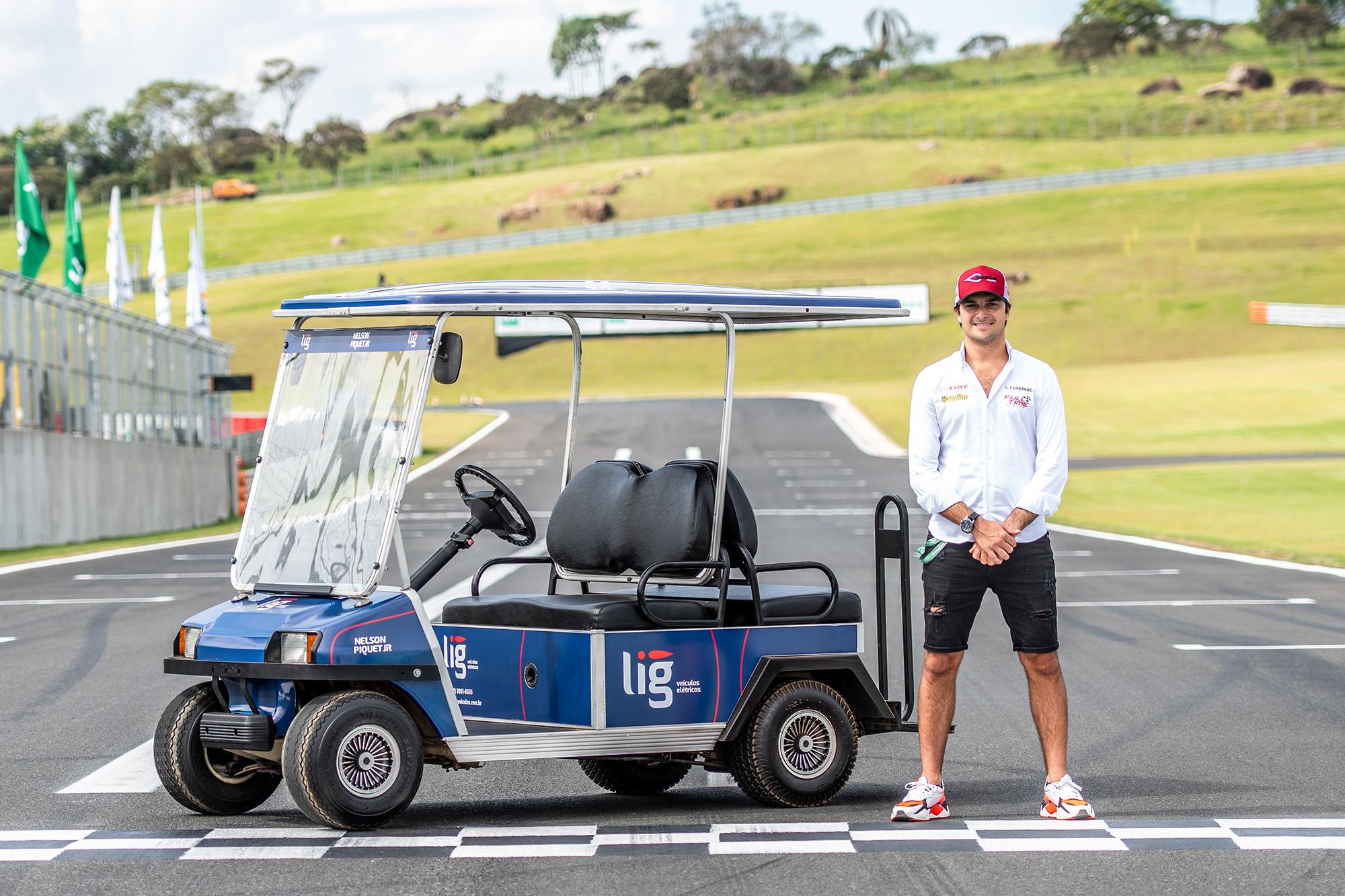 Lançamento da nova Marca com o piloto Nelson Piquet Jr.